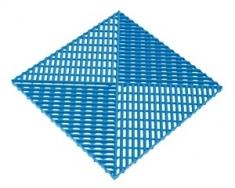 Решётка с дополнительным обрамлением, цвет Синий