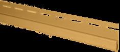 """Планка """"финишная"""" золотистая Т-14  -  3,66м"""