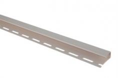 """Планка """"отделочная для откосов"""", 3000 мм, цвет Белый"""